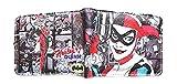 J&C DC Comics Harley Quinn (Batman Joker) Bi-fold Men's Boys Wallet