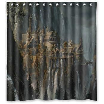 Aloundi Custom Design Lord of The Rings Waterproof Fabric