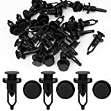 uxcell® 30pcs Fender Bumper Clips Rivets Retainer Fasteners 52161-02020