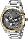 Nixon Women's 'Bullet Chrono' Quartz Metal and Stainless Steel Watch, Color:Silver-Toned (Model: A3662477-00)