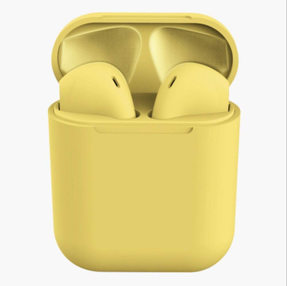 CHERRIES Drahtlose Kopfh/örer Inpods 12 Touch Control Bluetooth 5 0 Kopfh/örer mit Ladebox f/ür Android iOS System-B