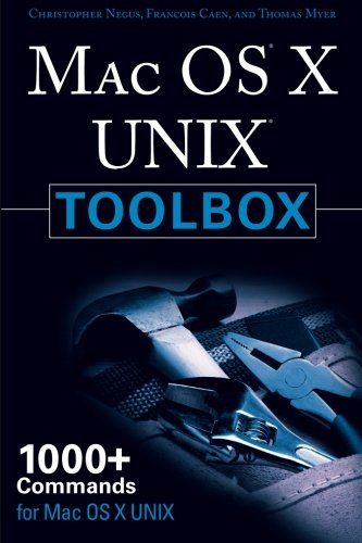 Price comparison product image MAC OS X UNIX Toolbox: 1000+ Commands for the Mac OS X