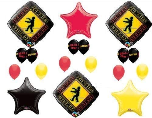 (1 X Zombies The Walking Dead Zone Birthday Party Balloons Decorations Supplies)