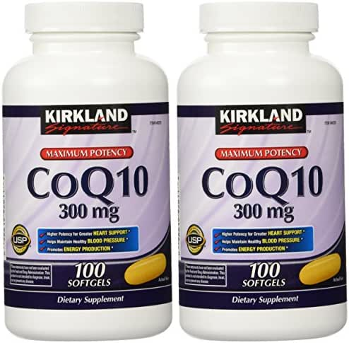 Kirkland Signature CoQ10 300 mg, 200 Softgels
