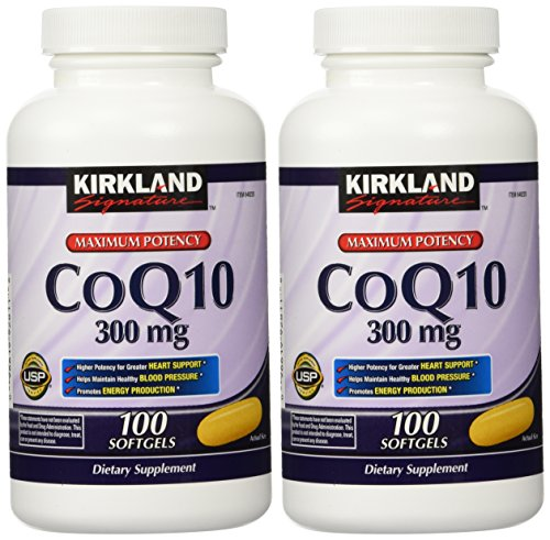 Softgels Mg 400 100 - Kirkland Signature CoQ10 300 mg, 200 Softgels