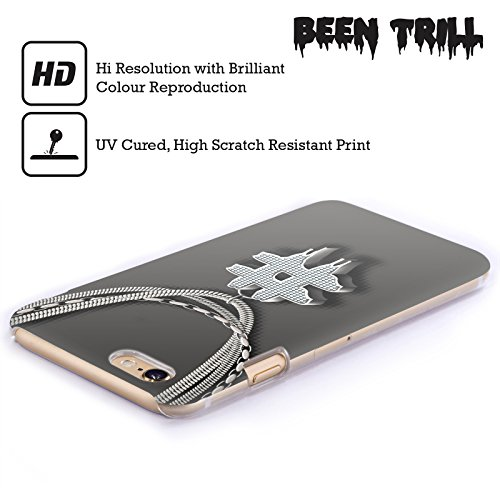 Official Been Trill Hashtag Silver Bling Blings Hard Back Case for Apple iPhone 6 / 6s