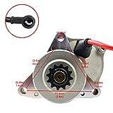 Electric Starter Motor for 50cc 70cc 90cc 110cc 125cc ATV Dirt Bike 3 bolt Upper Engine Mount