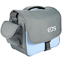 pangshi Camera Bag Case for Canon Rebel EOS T7 T6i T6 T6sT5i T4i T3i T2i 5D Mark III/II 7D Mark II EOS 700D 650D 600D 550D DSLR Blue