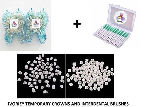 Dental Temporary Crown Material For Anterior Teeth and Molar Teeth