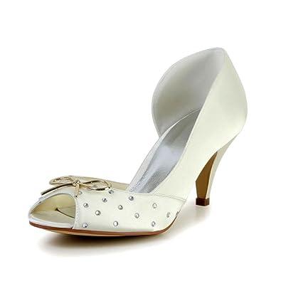 Wedding 594943 Mariée Chaussures De Mariage Jia Escarpins Pour 8wPnO0k