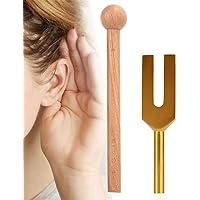 Stemvork, C-4096 Stemvork Meditatie Stemvork met hamer goud