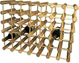 J.K. Adams Ash Wood 40-Bottle Wine Rack, Natural Review