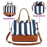 CAMTOP Women Ladies Weekender Travel Bag Canvas