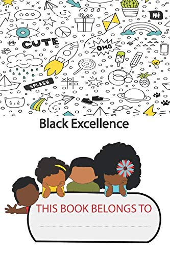 Black Excellence: Afro kids Notebook (Journal, Diary).