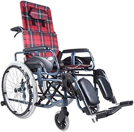軽量の調節可能な車椅子23KG折りたたみ式輸送車椅子人間工学に基づいたシート快適なアームレスト背もたれ100kg耐荷重45 * 46cmシート