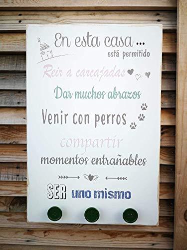 Cuadro de Luces Personalizado con Frases Motivadoras y Positivas.: Amazon.es: Handmade