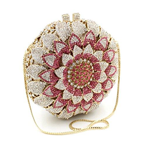 A Main Luxe De Haut Diamant Sac Femmes Soirée à De Gamme Sac De 78RqnwU