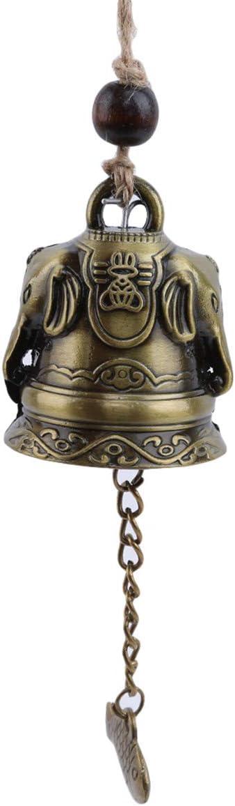 Winwinfly Cloche de Carillon de Vent de b/én/édiction en m/étal Feng Shui pour Good Luck Fortune Home Decor,Style 1