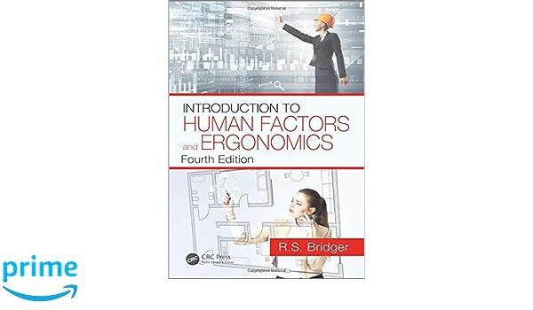 Introduction To Ergonomics Bridger Pdf