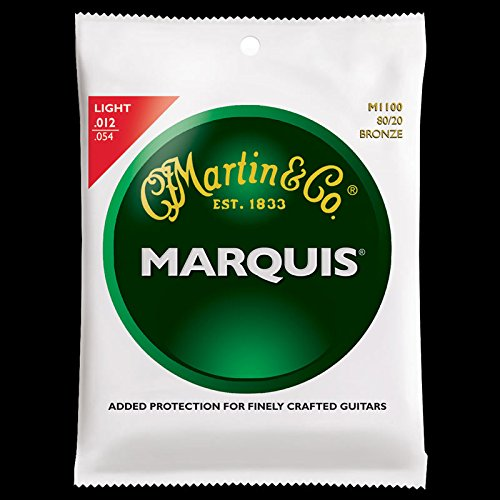 Martin Acoustic Marquis (Martin Marquis 80/20 Bronze Acoustic Guitar Strings)