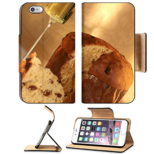 Luxlady Premium Apple iPhone 6 Plus iPhone 6S Plus Flip Pu Leather Wallet Case IMAGE ID 4426283 Traditional italian christmas cake called panettone Italian Christmas Eve Food