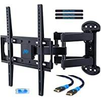 Mounting Dream MD2379 TV Wall Mount Bracket for most of 26-55 Inch LED, LCD, OLED and Plasma Flat Screen TV with Full Motion Swivel Articulating Dual Arms up to VESA 400x400mm and 99 LBS with Tilting