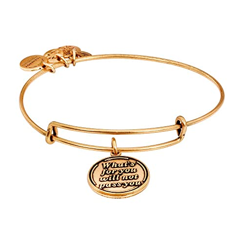 9935db07ae605 Alex and Ani What's for You Will Not Pass You Charm Bangle A12eb35rg ...