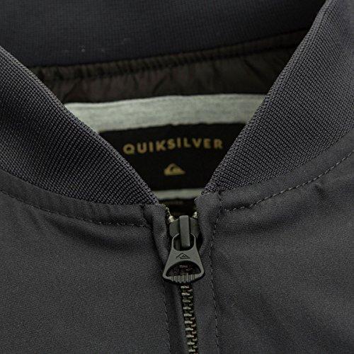 Quiksilver Men's Ogoki Bomber Winter Jacket, Tarmac, XL by Quiksilver (Image #3)