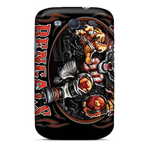AaronBlanchette Samsung Galaxy S3 Bumper Cell-phone Hard Covers Provide Private Custom High Resolution Cincinnati Bengals Image [hrn12916ymYF]