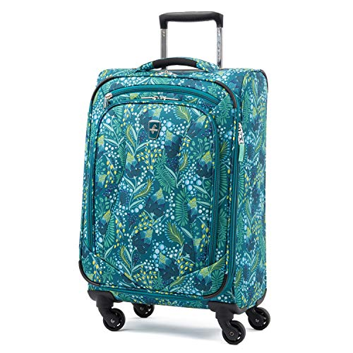 Atlantic Ultra Lite Softsides Carry-on Exp. Spinner, Lulu Green Atlantic Luggage Luggage Set