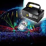 Sumger Professional DMX512 LED Stage Light RGY Laser Scanner DJ Disco Beam Stage Lighting Effect Laser Projector…