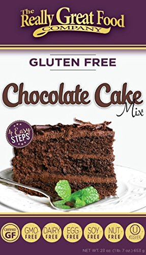 Really Great Food Gluten Free Chocolate Cake Mix 23 oz (Pack of 3)