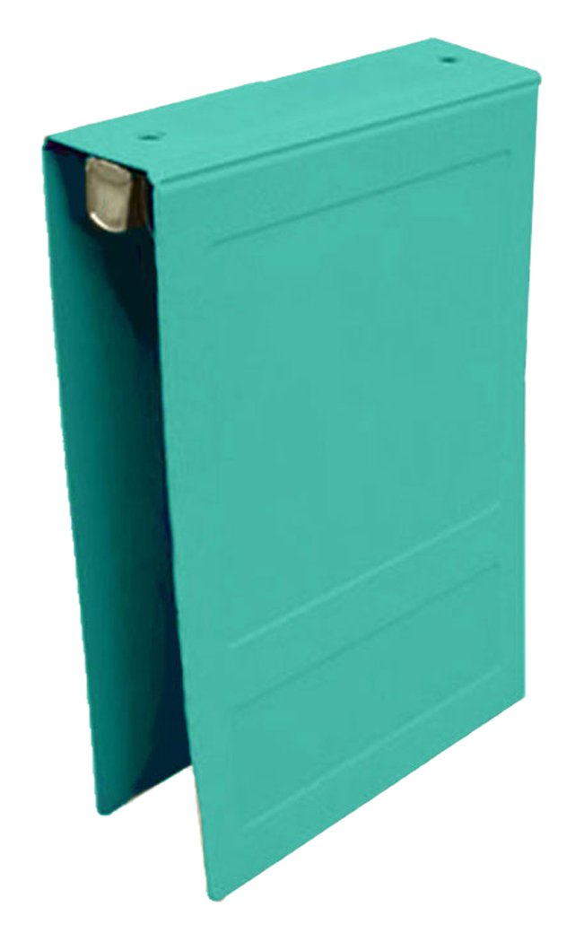 PDC Healthcare CBT18T Poly Binder, Top Open, 3-Ring,Resident Record, 2'', Teal