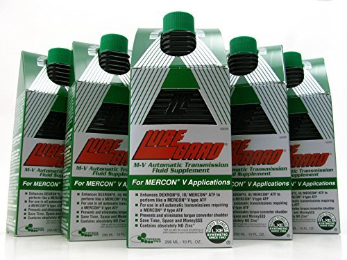 LUBEGARD M-V Automatic Transmission Oil Fluid Supplement Mercon-V Synthetic ATF 6 pack by Lubegard