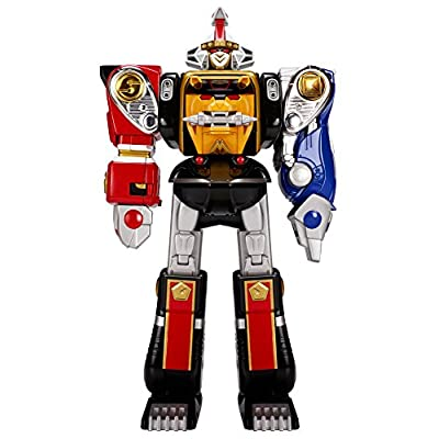 Power Rangers Mighty Morphin Legacy Ninja Megazord Action Figure: Toys & Games