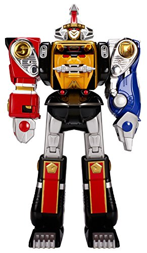 Power Rangers Mighty Morphin Legacy Ninja Megazord Action Figure]()