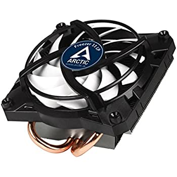 ARCTIC Freezer 11 LP - 100 Watts Intel CPU Cooler for Slim PC Cases - Untra quiet 92 mm PWM fan - Pre-applied MX-4 Thermal Compound