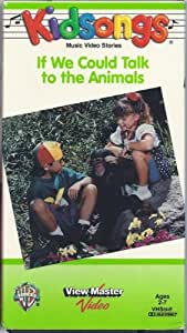 Kidsongs - If We Could Talk To the Animals (1993 VHS)