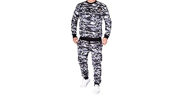 Violento Traje de Hombre Jogging Army Camuflaje, diseño de ...