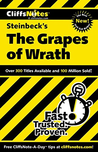 CliffsNotes on Steinbeck's The Grapes of Wrath (1st 2011) [Vlcek]