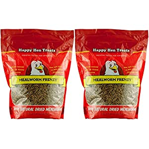 Happy Hen Treats Mealworm Frenzy, 30-Ounce (2 Pack) 38