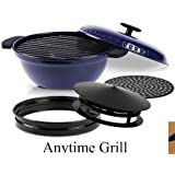Minden Anytime Grill - As Seen On TV Color Blue