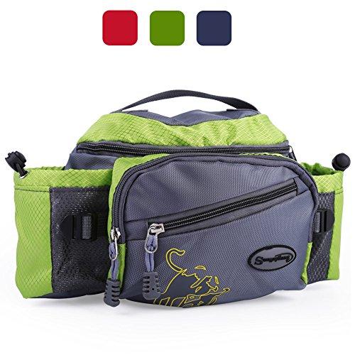 Sougayilang Fishing Bag Portable Outdoor Fishing Tackle Bags (Green) (Fishing Bag)