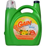 Gain Liquid Laundry Detergent, Hawaiian Aloha, 150 Fluid Ounce