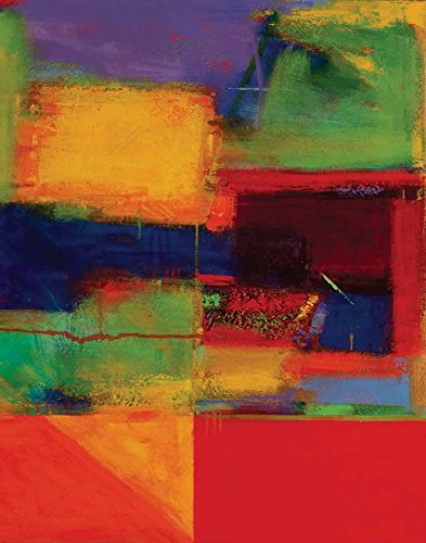 """Vibration II by Gary Max Collins - 20"""" x 26"""" Giclee Canvas Art Print"""