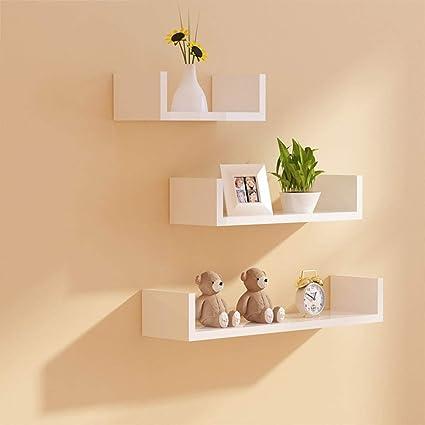 . Amazon com  Wall Shelf Living Room Wall Hanging Wall Cabinet
