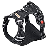 TIANYAO Dog Harness No Pull Reflective Oxford Material Soft Pet Vest Adjustable