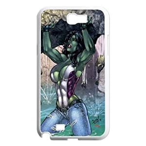 ZK-SXH - She-Hulk Personalized Phone Case for Samsung Galaxy Note 2 N7100,She-Hulk Customized Cover Case