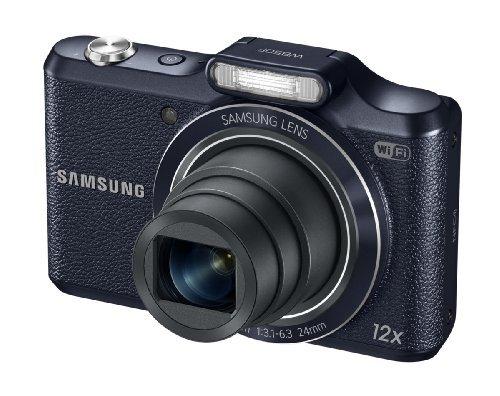 Samsung WB50F 16.2MP Smart WiFi & NFC Digital Camera with 12x Optical Zoom and 3.0 LCD (Black) [並行輸入品]   B07F571N2P