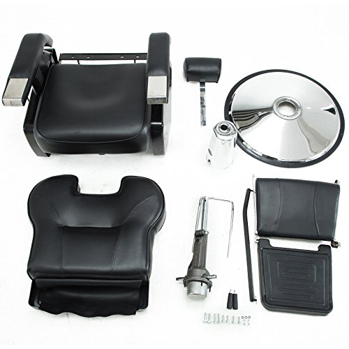 Artist Hand Black All Purpose Hydraulic Recline Barber